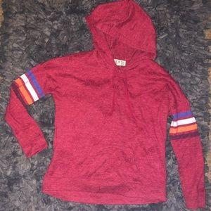 5/$20 Pink Rose size medium hoodies